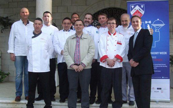 Jordanie Diner Ambassade de France - Frederic Jaunault Fruits Legumes