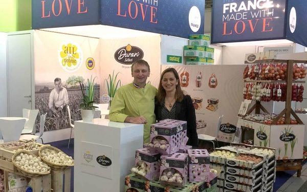 Berlin Salon Fruit Logistica Décoration Stand Ail Française - Frederic Jaunault Fruits Legumes