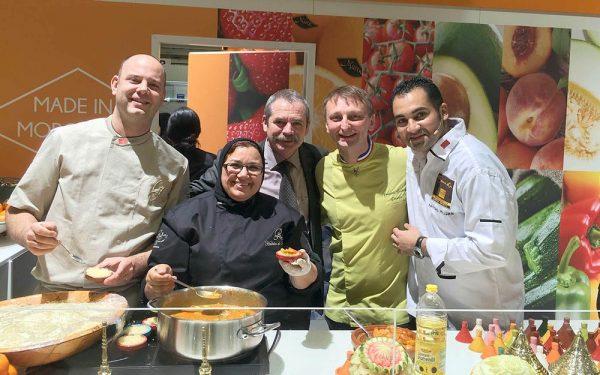 Berlin Salon Fruit Logistica Décoration Stand Maroc - Frederic Jaunault Fruits Legumes