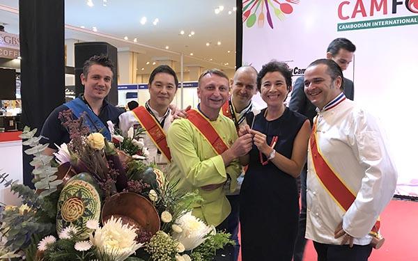 Cambodge ambassadrice du Cambodia - Frederic Jaunault Meilleur Ouvrier France Primeur Fruits Legumes