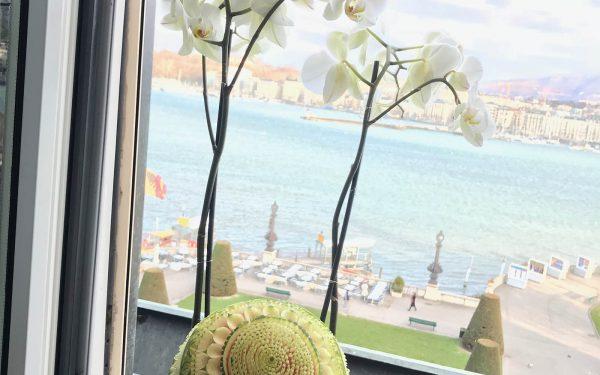 Angleterre Déjeuner Pourcel Hotel - Frederic Jaunault MOF Primeur Fruits Legumes
