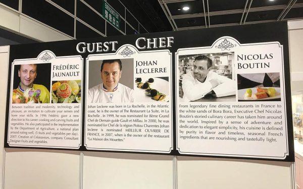 Hong Kong Dejeuner de presse - Frederic Jaunault Fruits Legumes