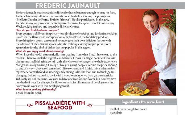 Jordanie Formation Boulangere Crumz - Frederic Jaunault Fruits Legumes