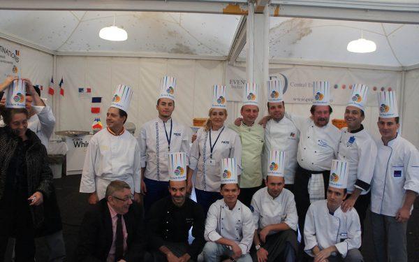 Roumanie Grande Table - Frederic Jaunault MOF Primeur Fruits Legumes