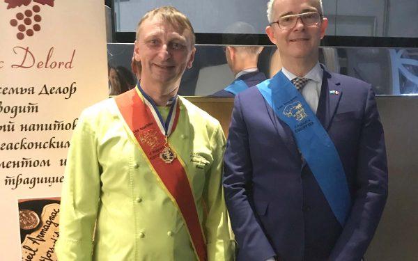 Kazakhstan ambassadeur - Frederic Jaunault Meilleur Ouvrier France Primeur Fruits Legumes