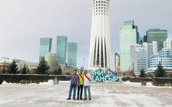Kazakhstan Astana- Frederic Jaunault Meilleur Ouvrier France Primeur Fruits Legumes
