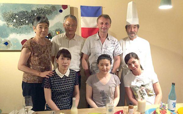 Japon Sake Choko - Frederic Jaunault MOF Primeur Fruits Legumes