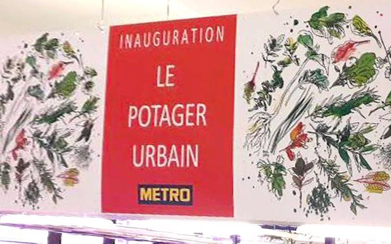 Header Inauguration Le Potager Urbain - Frederic Jaunault Fruits Légumes