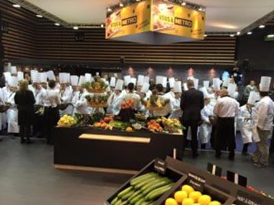 Bocuse d'Or - Frederic Jaunault MOF Primeur Fruits Legumes