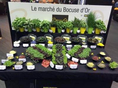 Le Marché du Bocuse d'Or - Frederic Jaunault MOF Primeur Fruits Legumes