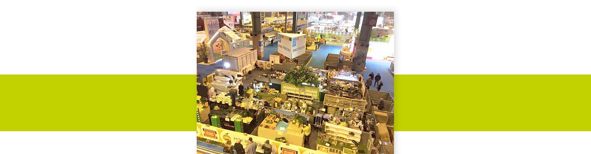Header Salon de l'Agriculture - Frederic Jaunault MOF Primeur Fruits Legumes