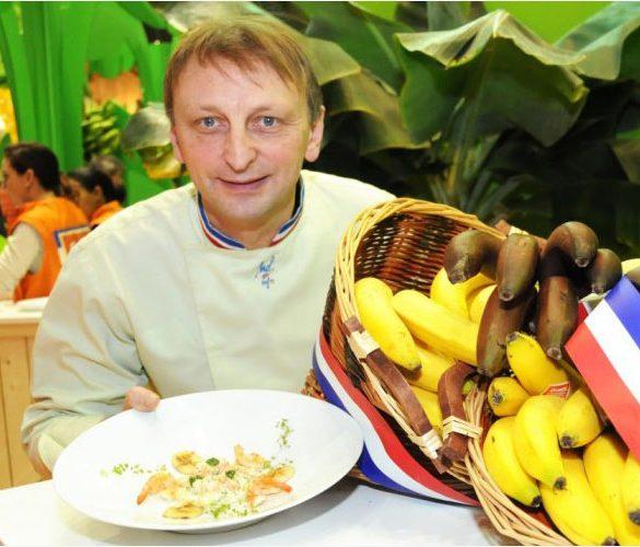 Header Actu Banane à la Française à l'Honneur - Frederic Jaunault MOF Primeur Fruits Legumes