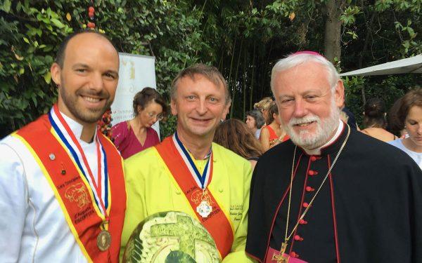 Italie Rome Buffet Ambassade Saint Siège - Frederic Jaunault Meilleur Ouvrier France Primeur Fruits Legumes