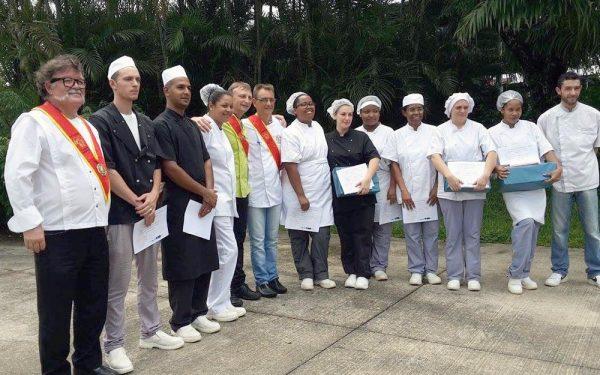 Ile de la Réunion AFPAR - Frederic Jaunault MOF Primeur Fruits Legumes