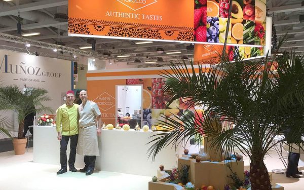 Berlin Salon Fruit Logistica Décoration Stand Maroc - Frederic Jaunault Fruits Legumes