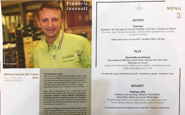 Cambodge Menu - Frederic Jaunault Meilleur Ouvrier France Primeur Fruits Legumes