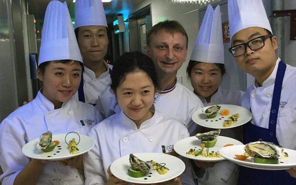 Chine Diner des Chefs - Frederic Jaunault Fruits Legumes