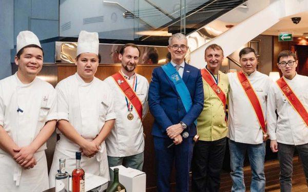 Kazakhstan diner ambassadeur astana - Frederic Jaunault Meilleur Ouvrier France Primeur Fruits Legumes