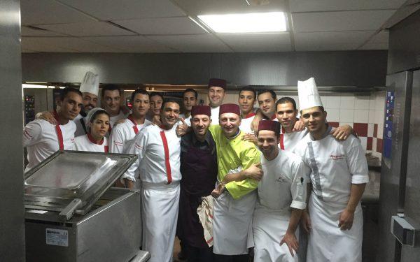 Maroc Marakech Diner de gala au Fouquet's - Frederic Jaunault Fruits Legumes