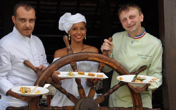 Martinique Guadeloupe Diner Gastronomique Spécial Banane - Frederic Jaunault Fruits Legumes