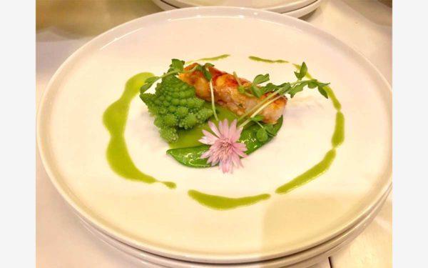 Hong Kong Assiette Diner Master Class - Frederic Jaunault Fruits Legumes