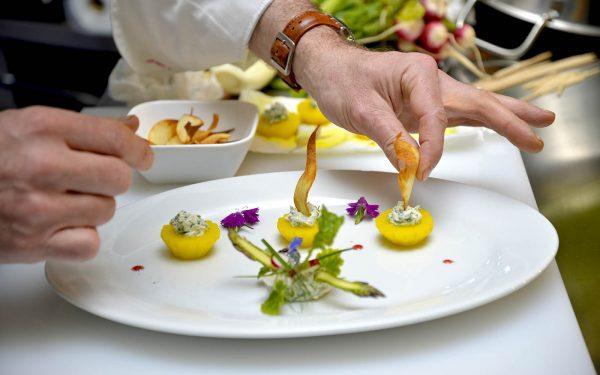 Casablanca Festival de la Gastronomie Assiette - Frederic Jaunault MOF Primeur Fruits Legumes