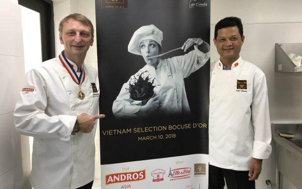 Vietnam Bocuse d'Or - Frederic Jaunault Meilleur Ouvrier France Primeur Fruits Legumes