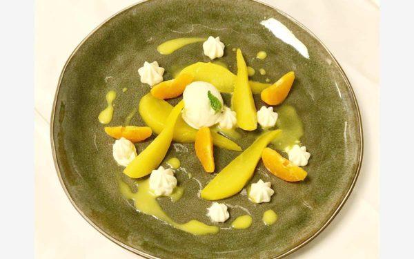 Kazakhstan dessert diner - Frederic Jaunault Meilleur Ouvrier France Primeur Fruits Legumes