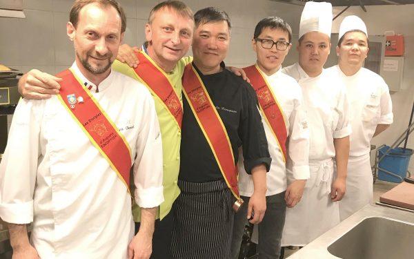 Kazakhstan les Escoffier - Frederic Jaunault Meilleur Ouvrier France Primeur Fruits Legumes