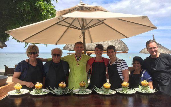 Ile Maurice MasterClass Hilton - Frederic Jaunault MOF Primeur Fruits Legumes