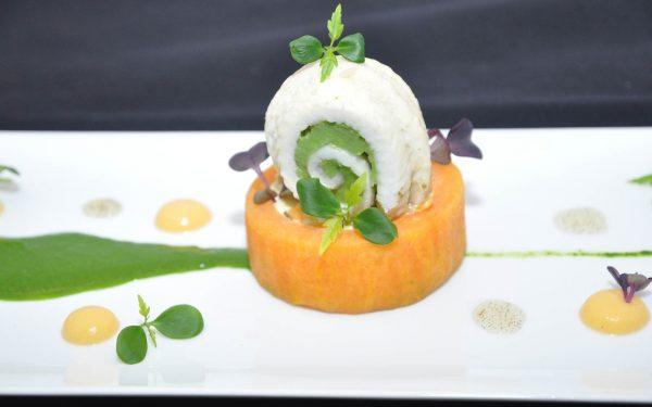 Caroline du Nord Patate Douce Assiette - Frederic Jaunault Meilleur Ouvrier France Primeur Fruits Legumes