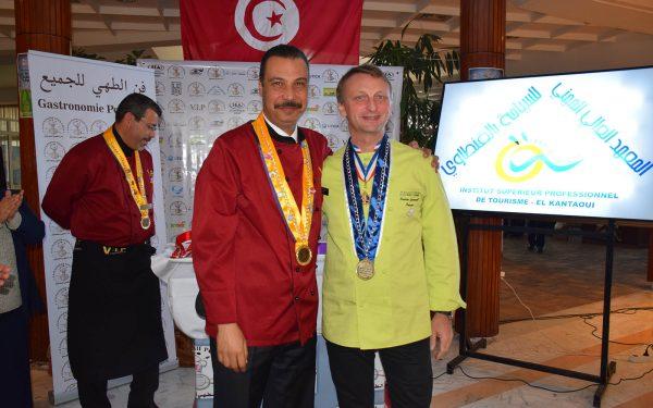 Tunisie Président Jury Concours- Frederic Jaunault Fruits Legumes