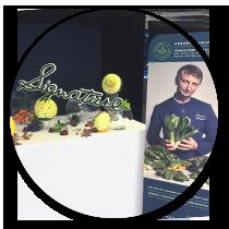Recherche et Développement R&D - Concept Restauration - Frederic Jaunault Meilleur Ouvrier France Primeur Fruits Légumes