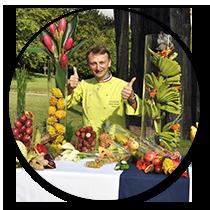 Évènementiel - Création de concept événementiels & artistiques - Frederic Jaunault Meilleur Ouvrier France Primeur Fruits Légumes