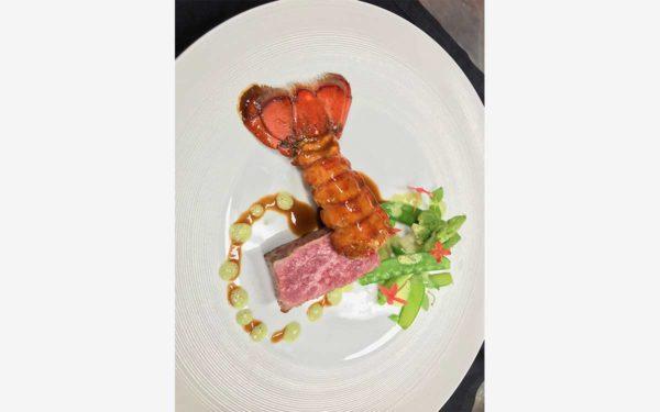 Macao Assiette Diner de Gala Ritz Carlton - Frederic Jaunault Fruits Legumes