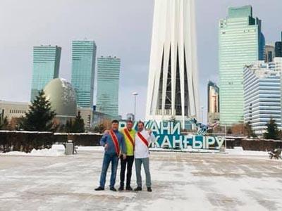 Kazakhstan Brigade des Escoffier - Frederic Jaunault Fruits Légumes
