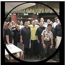 Tahiti Dîner de gala – Menu signature - Frederic Jaunault MOF Primeur Fruits Legumes