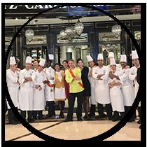 Macao - Dîner de gala Ritz Carlton - Frederic Jaunault MOF Primeur Fruits Legumes