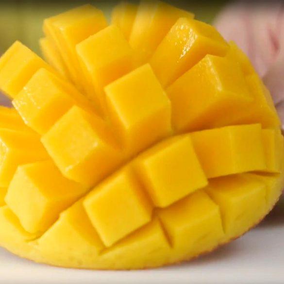 Realisation Technique de la mangue chinoise - Frederic Jaunault MOF Primeur Fruits Legumes
