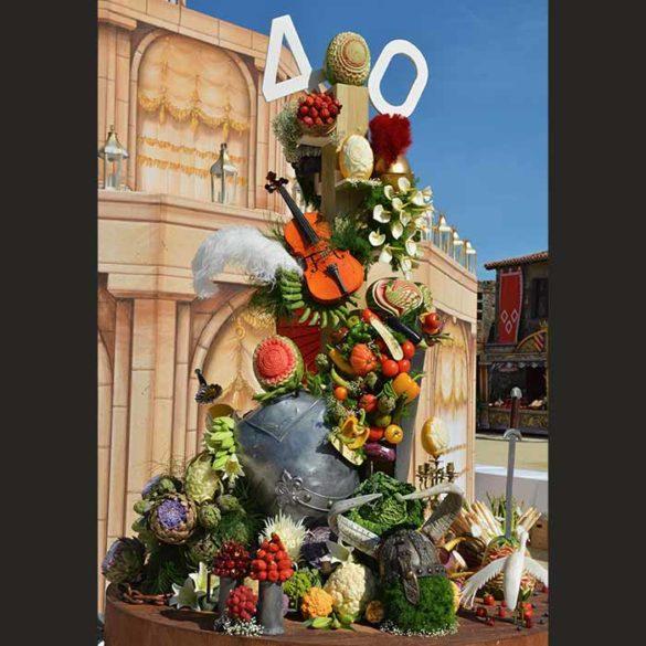 Évènement 40ans anniversaire Puy du Fou - Frederic Jaunault MOF primeur Fruits Legumes