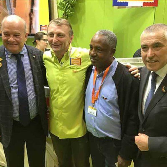Évènement Ambassadeur de la Banane Française - Frederic Jaunault MOF primeur Fruits Legumes
