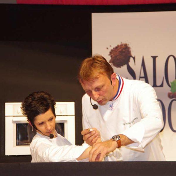 Évènement Salon du chocolat de Paris - Frederic Jaunault MOF primeur Fruits Legumes