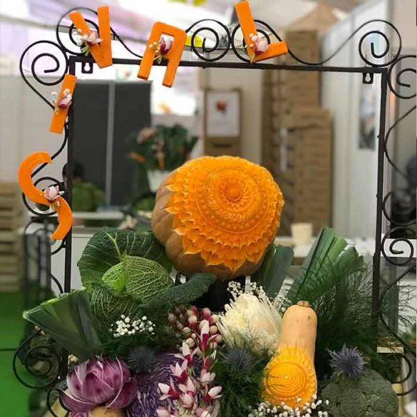Évènement Salon Sival - Frederic Jaunault MOF primeur Fruits Legumes