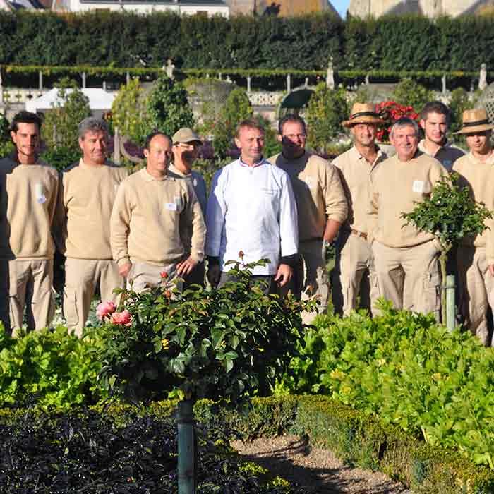 Évènement Vilandry Château - Frederic Jaunault MOF primeur Fruits Legumes