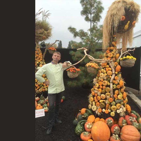 Évènement Création de pièce artistique hors-norme - Frederic Jaunault MOF primeur Fruits Legumes