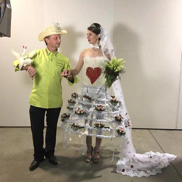 Évènement Laval Fashion Week - Frederic Jaunault MOF primeur Fruits Legumes