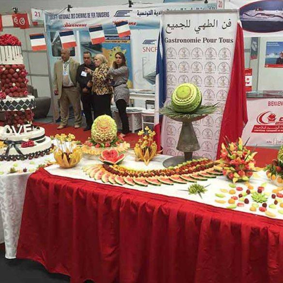 Évènement Festival de la Gastronomie Tunisie - Frederic Jaunault MOF primeur Fruits Legumes